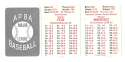 1953 APBA (Reprint) Season (Pencil Marks) CHICAGO WHITE SOX Team Set