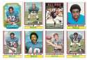 1974 Topps Football Team Set VG+ BUFFALO BILLS
