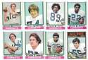 1974 Topps Football Team Set VG+ DALLAS COWBOYS