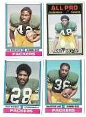 1974 Topps Football Team Set VG+ GREEN BAY PACKERS