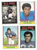 1974 Topps Football Team Set VG+ MINNESOTA VIKINGS