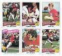 1975 Topps Football Team Set (VG Condition) - ATLANTA FALCONS
