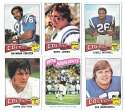1975 Topps Football Team Set (VG Condition) - BALTIMORE COLTS