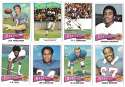 1975 Topps Football Team Set (VG Condition) - BUFFALO BILLS