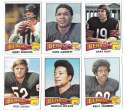 1975 Topps Football Team Set (VG Condition) - CHICAGO BEARS