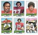 1975 Topps Football Team Set (VG Condition) - DENVER BRONCOS