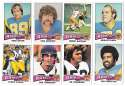 1975 Topps Football Team Set (VG Condition) - LOS ANGELES RAMS