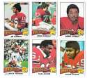 1975 Topps Football Team Set (VG Condition) - NEW ENGLAND PATRIOTS