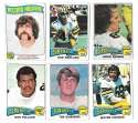 1975 Topps Football Team Set (VG Condition) - NEW ORLEANS SAINTS