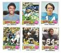 1975 Topps Football Team Set (VG Condition) - NEW YORK GIANTS