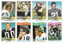 1975 Topps Football Team Set (VG Condition) - OAKLAND RAIDERS