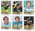 1975 Topps Football Team Set (VG Condition) - SAN DIEGO CHARGERS w/ Dan Fouts RC