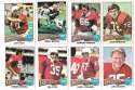 1975 Topps Football Team Set (VG Condition) - ST LOUIS CARDINALS