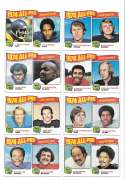 1975 Topps Football (VG Condition) Football All-Pro Players 25 card subset
