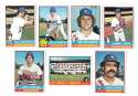 1976 Topps C EX Condition - LOS ANGELES DODGERS Team Set