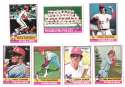 1976 Topps C EX Condition - PHILADELPHIA PHILLIES Team Set