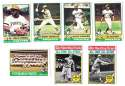 1976 Topps C EX Condition - PITTSBURGH PIRATES Team Set