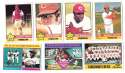1976 Topps C EX Condition - CINCINNATI REDS Team Set