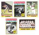 1976 Topps C EX Condition - DETROIT TIGERS Team Set