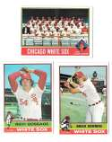 1976 Topps C EX Condition - CHICAGO WHITE SOX Team Set