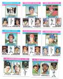 1976 Topps C EX condtion  League Leaders 15 card subset