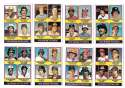 1976 Topps C EX condtion  Rookies 11 card subset