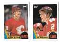 1987-88 Topps Hockey Team Set - Calgary Flames