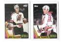 1987-88 Topps Hockey Team Set - New Jersey Devils