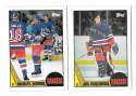 1987-88 Topps Hockey Team Set - New York Rangers