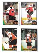 1987-88 Topps Hockey Team Set - Philadelphia Flyers