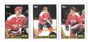 1987-88 Topps Hockey Team Set - Washington Capitals