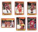 1990-91 Topps Hockey Team Set - Calgary Flames