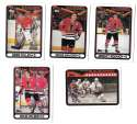 1990-91 Topps Hockey Team Set - Chicago Blackhawks