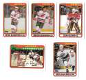 1990-91 Topps Hockey Team Set - New Jersey Devils