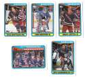 1990-91 Topps Hockey Team Set - New York Rangers