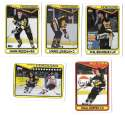 1990-91 Topps Hockey Team Set - Pittsburgh Penguins