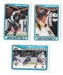1990-91 Topps Hockey Team Set - Toronto Maple Leafs