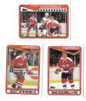 1990-91 Topps Hockey Team Set - Washington Capitals