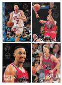 1994-95 Topps Stadium Club Members Only Parallel Basketball Chicago Bulls