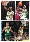 1994-95 Topps Stadium Club Members Only Parallel Basketball Seattle Supersonics