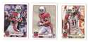 2012 Topps Magic Mini 1-275 Football Team Set - ARIZONA CARDINALS