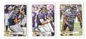 2012 Topps Magic Mini 1-275 Football Team Set - BALTIMORE RAVENS