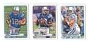 2012 Topps Magic Mini 1-275 Football Team Set - INDIANAPOLIS COLTS