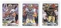2012 Topps Magic Mini 1-275 Football Team Set - NEW ORLEANS SAINTS
