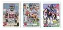 2012 Topps Magic Mini 1-275 Football Team Set - NEW YORK GIANTS