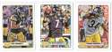 2012 Topps Magic Mini 1-275 Football Team Set - PITTSBURGH STEELERS