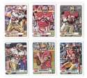 2012 Topps Magic Mini 1-275 Football Team Set - SAN FRANCISCO 49ERS