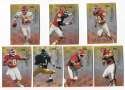 1998 Playoff Prestige Hobby Football Team Set - KANSAS CITY CHIEFS