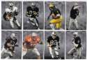 1998 Playoff Prestige Hobby Football Team Set - OAKLAND RAIDERS