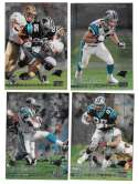 1999 Topps Stadium Club Chrome Football - CAROLINA PANTHERS